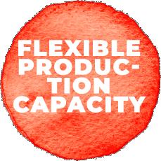 Capacité de production ajustable