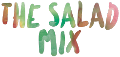 The salad mix